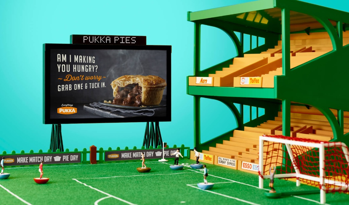 Pukka Pies – Animation and Advertising