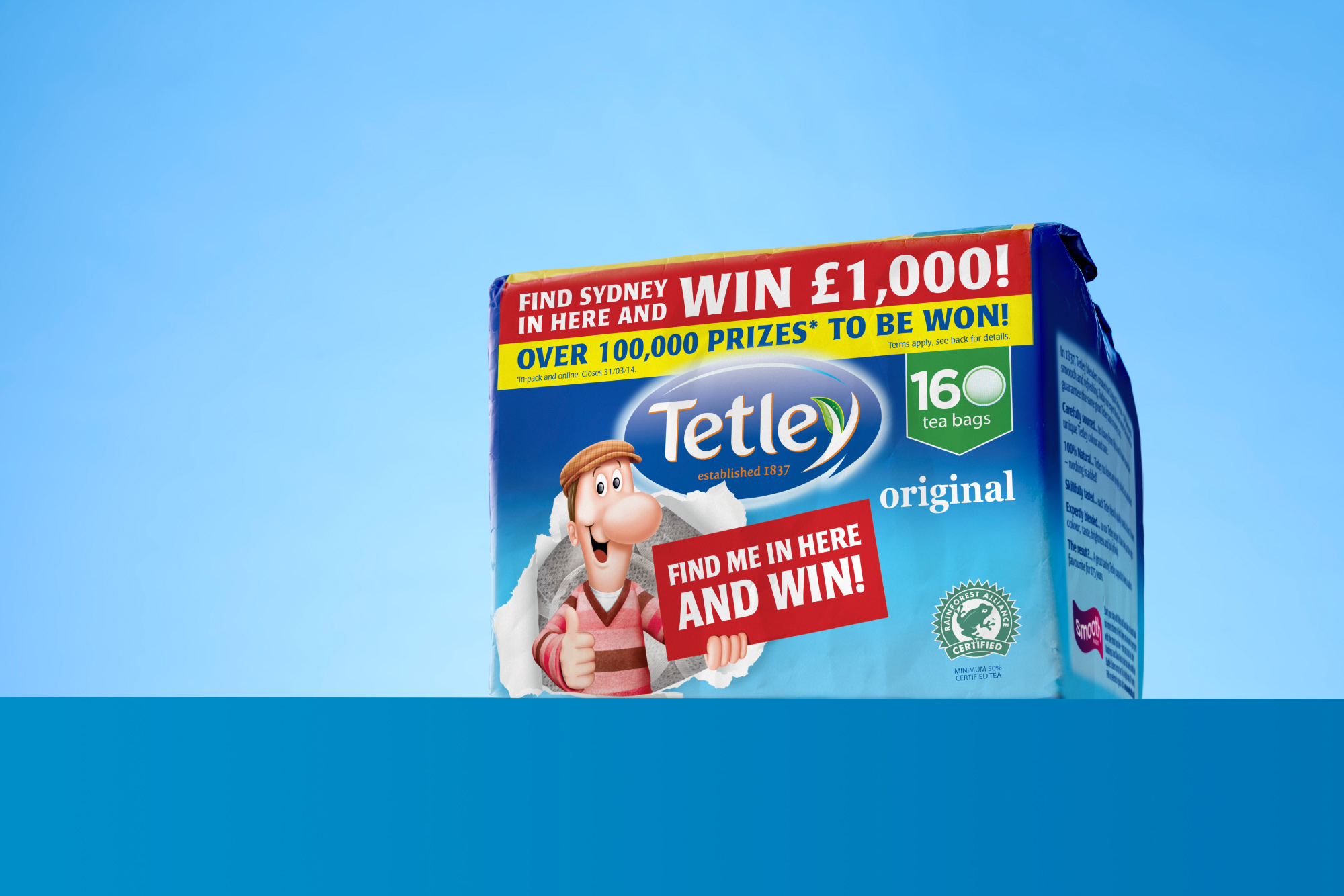 Tetley – On Pack Promotion